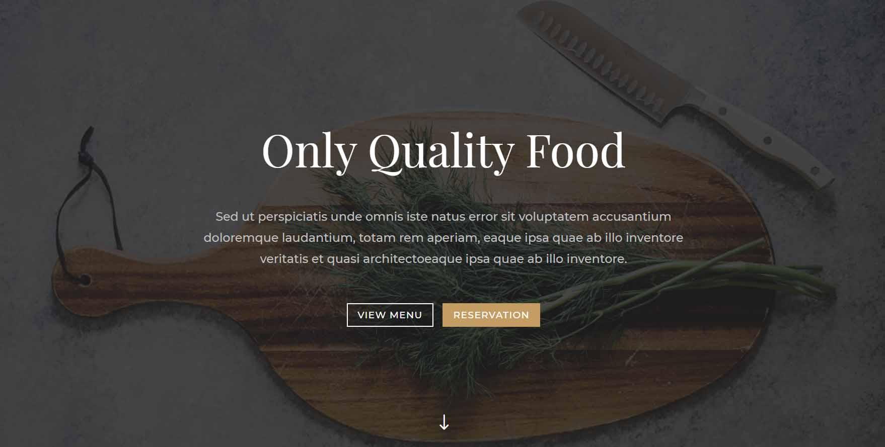 Página Web para un Restaurante