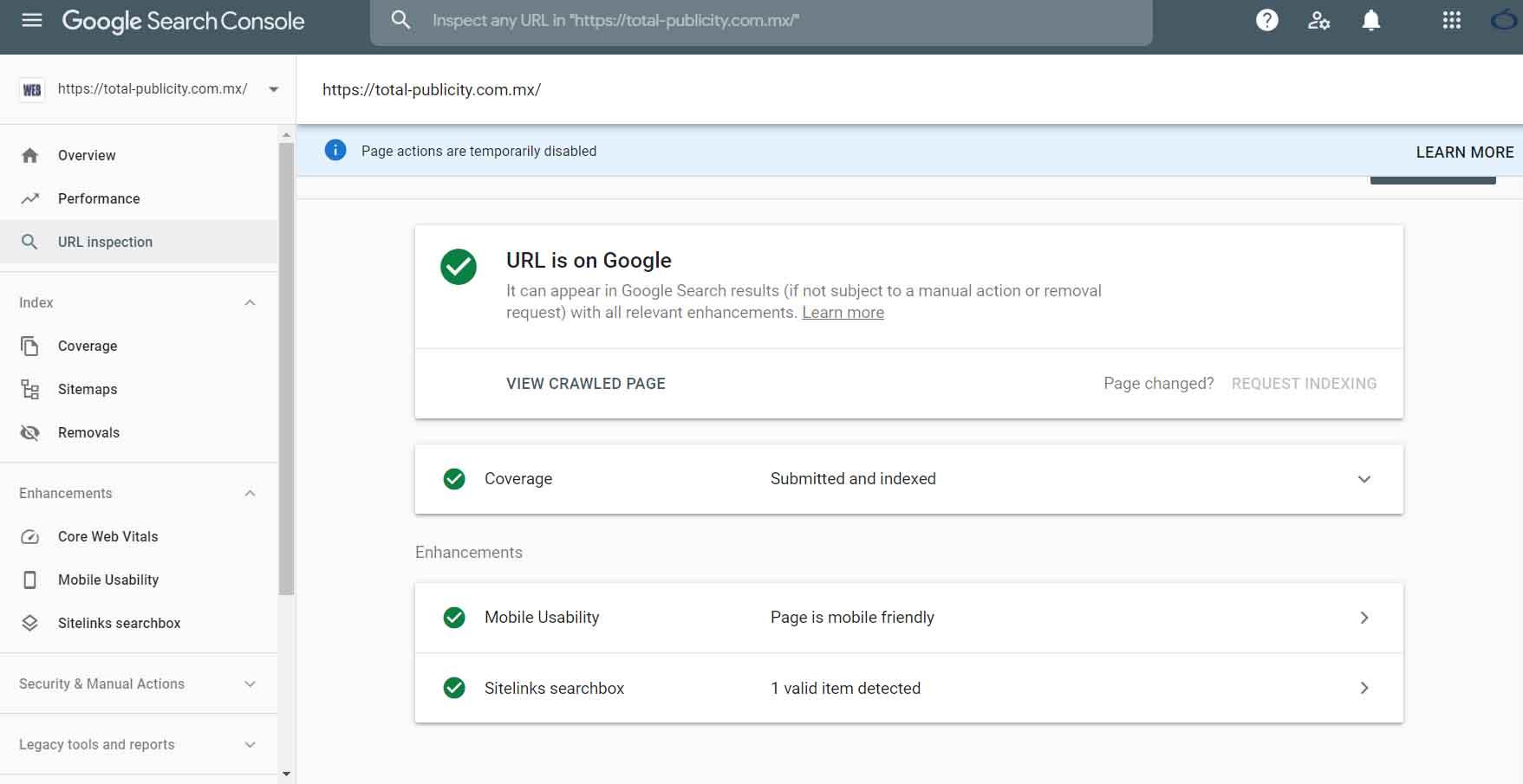 Registrar Propiedad de Página Web en Google