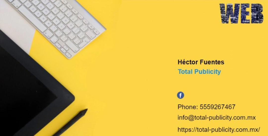 Tarjeta de Presentación Digital para Negocios Web